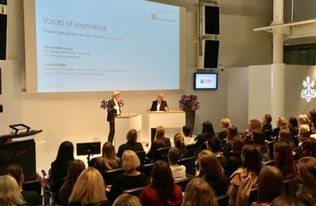 "Event ""Voices of Experience"" mit Dr. Sabine Keller Busse, UBS"