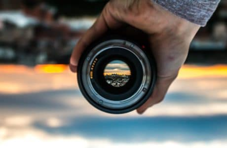 Looking at the world through a lens by Devin Avery on Unsplash